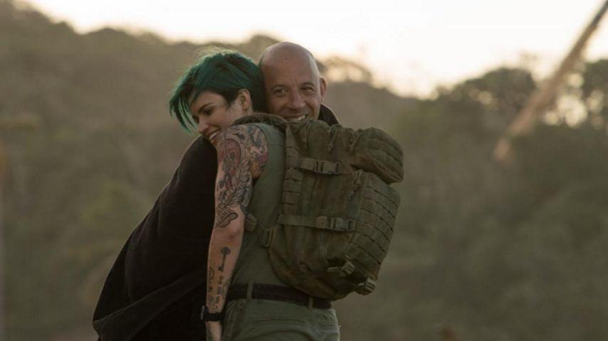 """Vin Diesel und Ruby Rose beim Dreh von """"Triple X"""""""