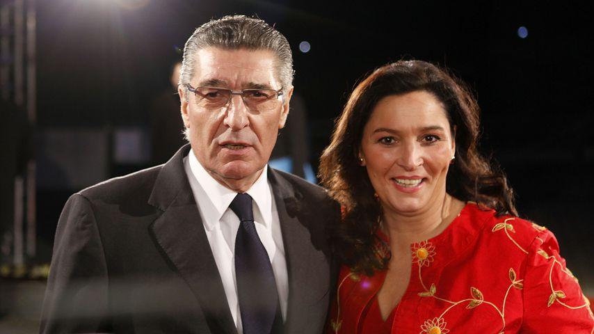 Rudi Assauer und Bettina Michel bei den 22. European Film Awards 2009