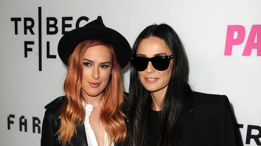"""Rumer Willis und Demi Moore bei der """"Palo Alto""""-Premiere 2014"""