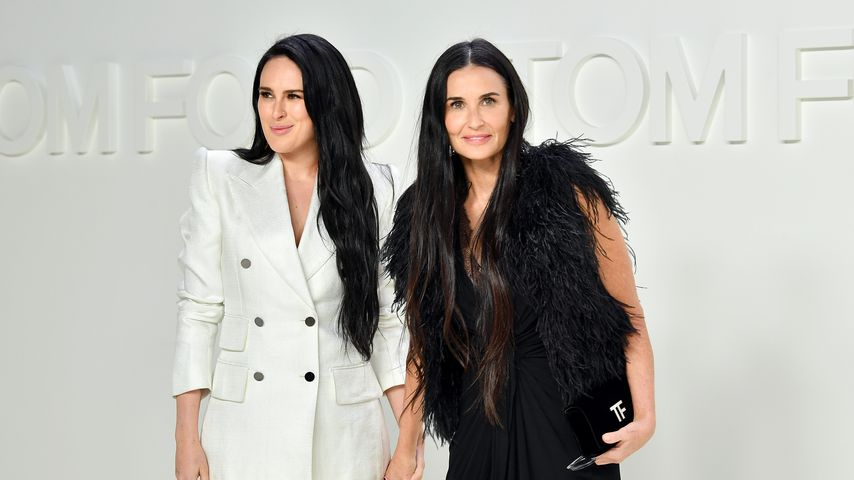 Rumer Willis und Demi Moore, 2020