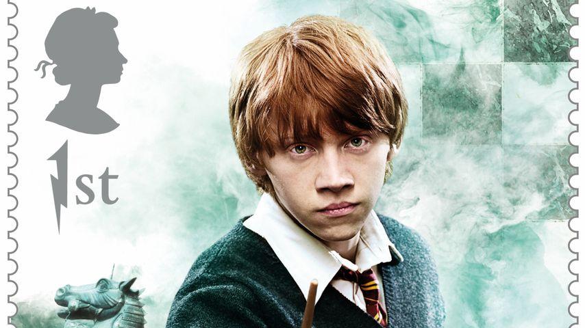 "Rupert Grint als ""Harry Potter""-Briefmarke 2018"