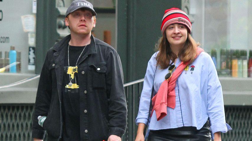 Schon seit sieben Jahren: Ist das Rupert Grints Freundin?