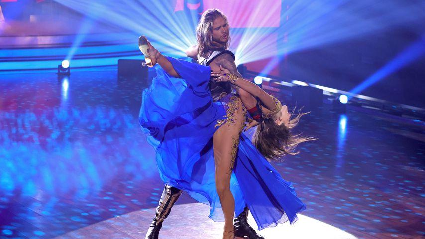 Rúrik Gíslason und Renata Lusin bei Let's Dance, 2021