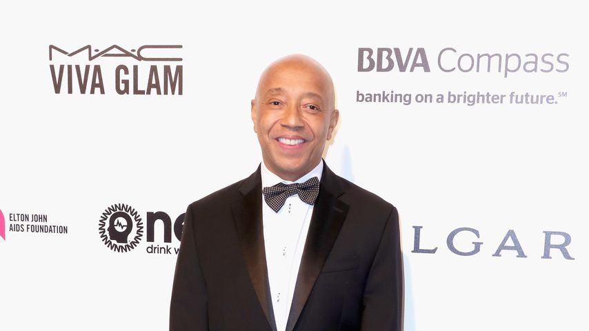 Russell Simmons auf Elton Johns AIDS Foundation's Academy Awards Viewing Party 2017