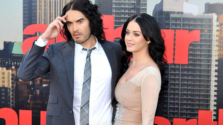 Seit Scheidungs-SMS: Eiszeit bei Katy Perry & Ex Russell