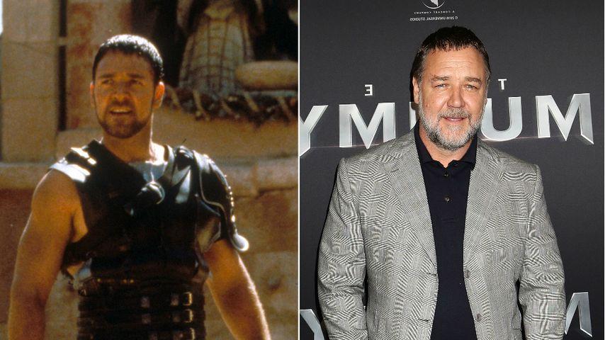 Russell Crowe: Vom heißen Gladiator zum Zottel mit Plauze