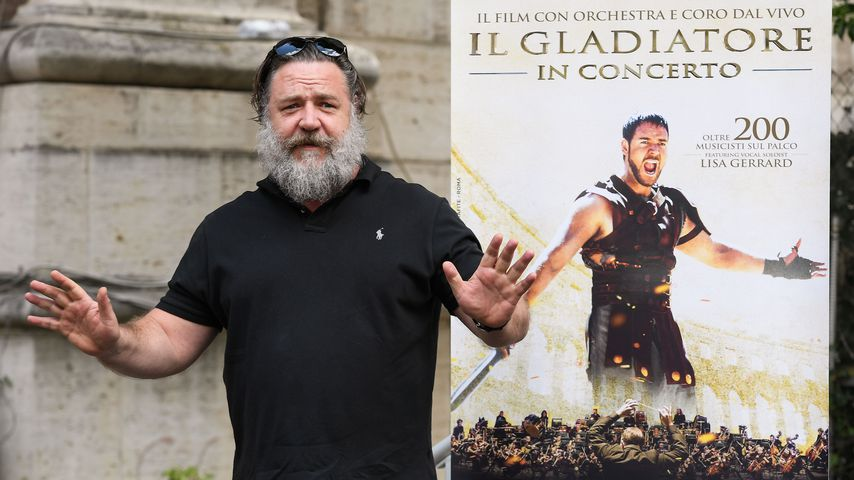 """Russell Crowe bei """"Gladiator In Concert"""", 2018"""