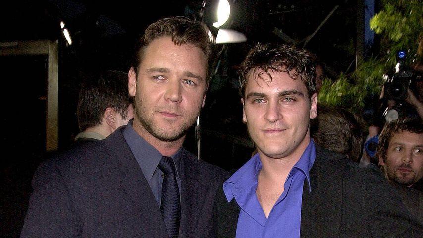 Russell Crowe und Joaquin Phoenix bei der Premiere von Gladiator 2000