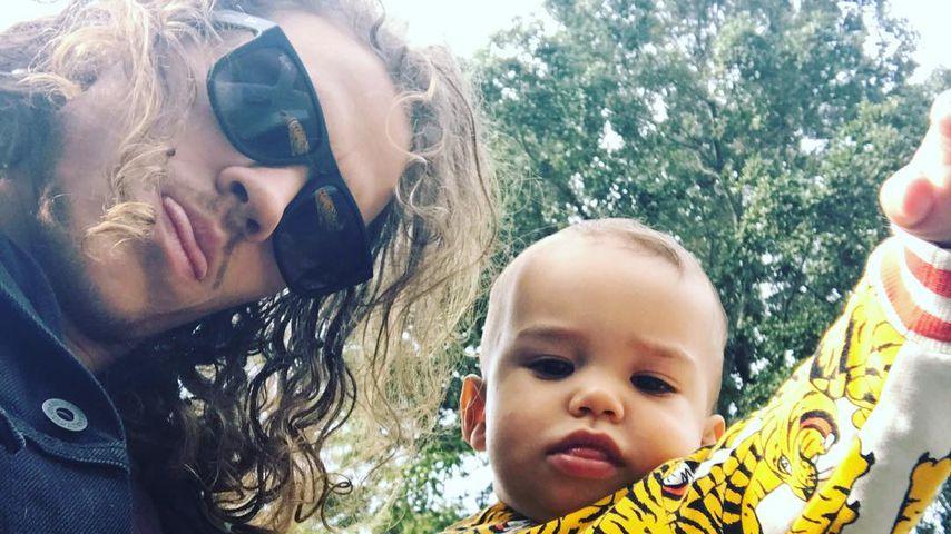 Ryan Dorsey und sein Sohn Josey 2016