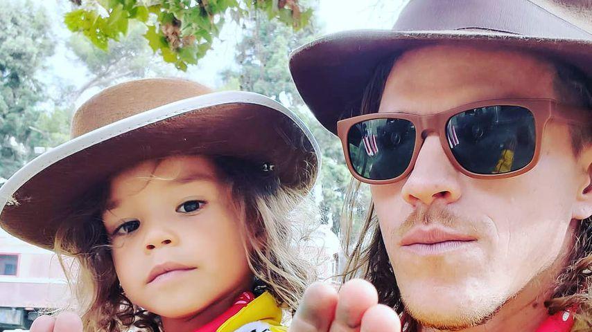 Ryan Dorsey und sein Sohn Josey, November 2019