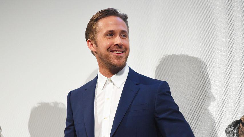 Rarer Anblick: Ryan Gosling zeigt zum 1. Mal seine Tochter