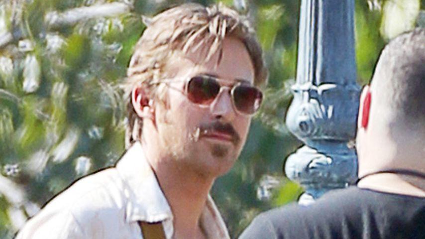 1. Auftritt als Papa! Ryan Gosling im 70er-Look