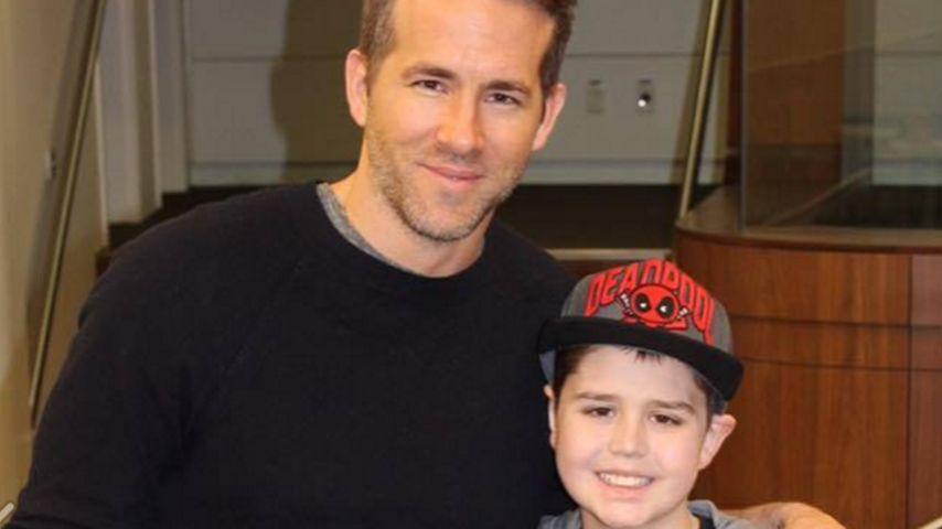 Echter Superheld: Ryan Reynolds kämpft für krebskrankes Kind