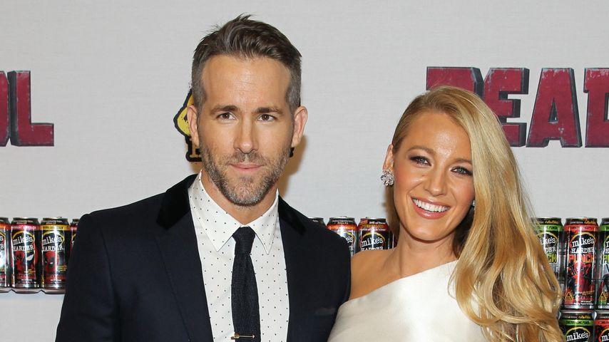 Ryan Reynolds und Blake Lively im Februar 2016 auf einer Filmpremiere in New York