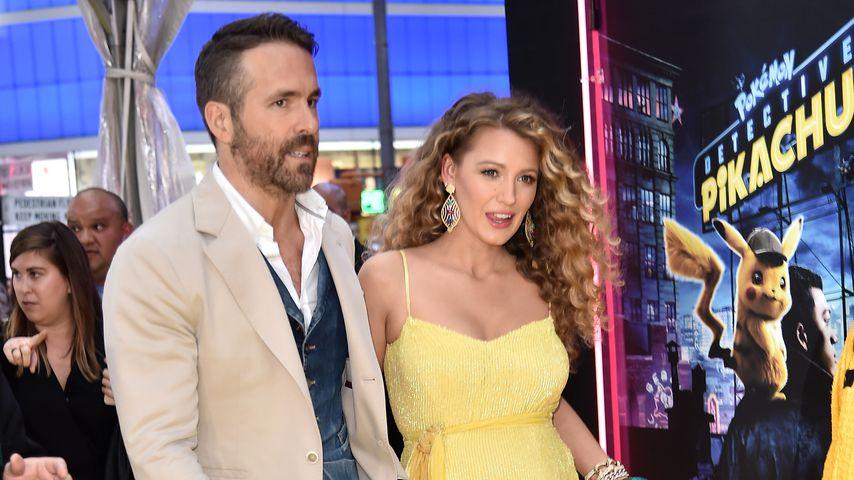 Ryan Reynolds und Blake Lively in New York im Mai 2019
