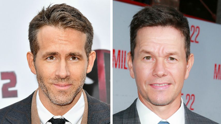Ryan Reynolds witzelt über Mark Wahlbergs straffen Tagesplan
