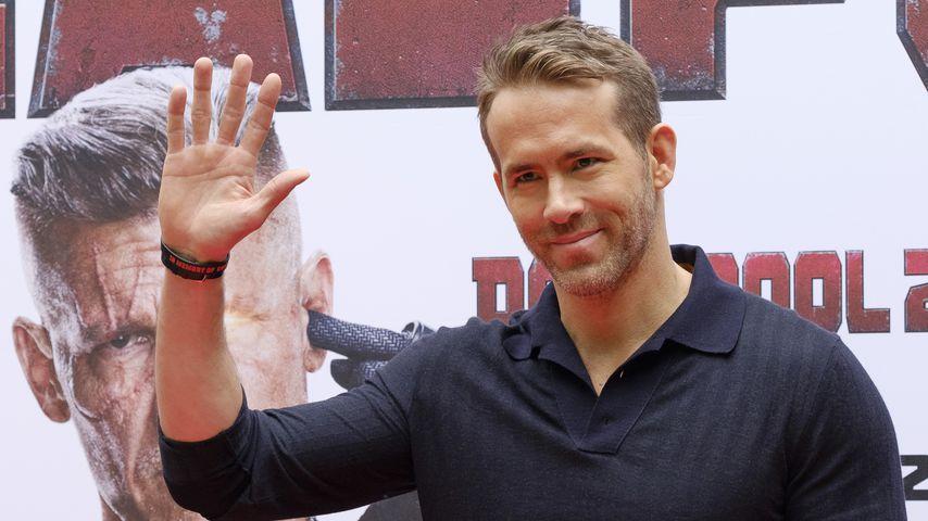 """Ryan Reynolds auf einem """"Deadpool 2""""-Event in Madrid"""