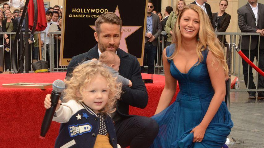 Mit 1. Auftritt: Ryan Reynolds Tochter stahl ihm die Show!
