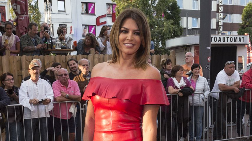 Red-Carpet-Comeback: Sabia Boulahrouz in heißem Leder-Fummel