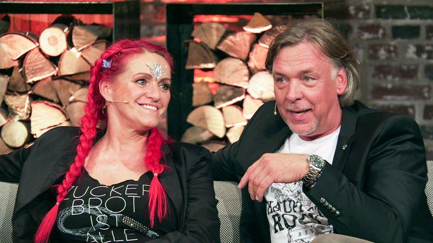 Sabrina Lange und ihr Partner Thomas Graf von Luxburg bei der Sommerhaus-Reunion