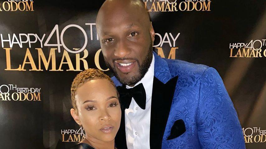 Sabrina Parr und Lamar Odom, November 2019
