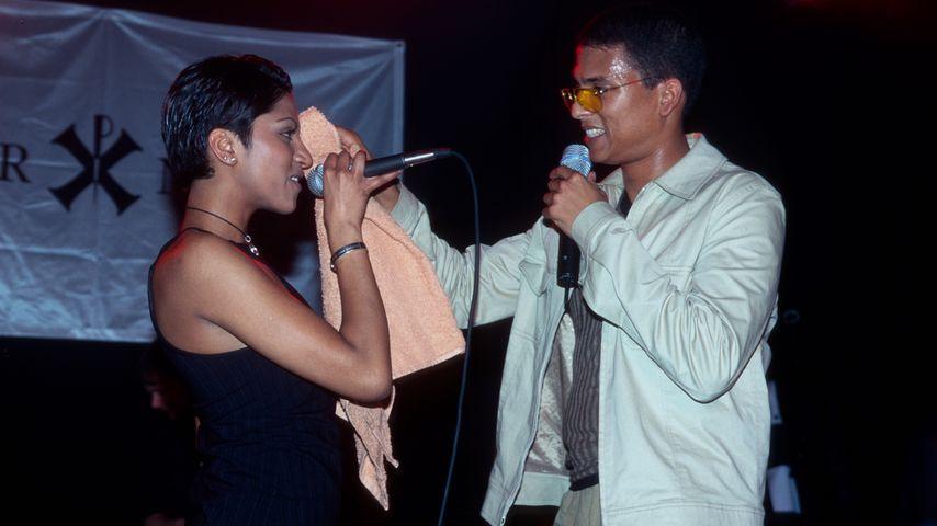 Xavier Naidoo und Sabrina Setlur