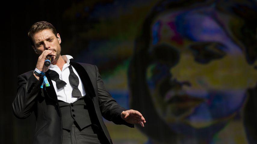Keith Duffy während eines Boyzone-Konzerts in London