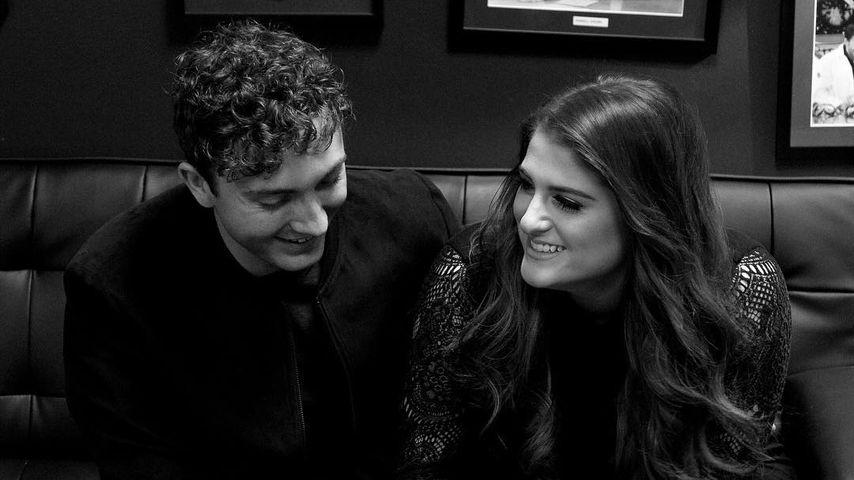 Sängerin Meghan Trainor mit ihrem Freund Daryl Sabara