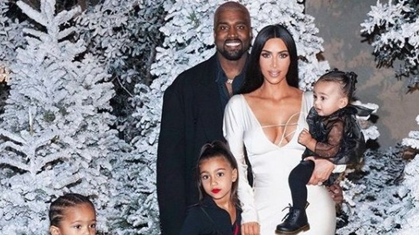 Saint West, North West, Kanye West, Kim Kardashian und Chicago West