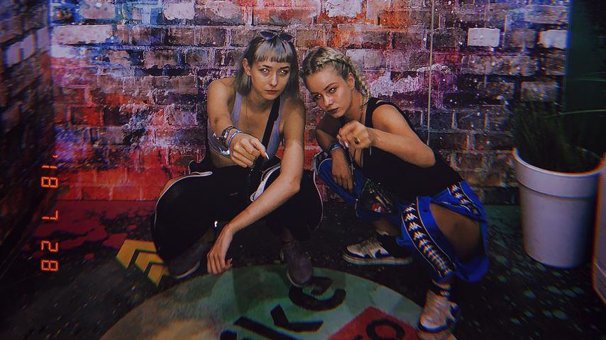 Sally Haas und Zoe Saip beim Juicy Beats Festival in Dortmund 2018