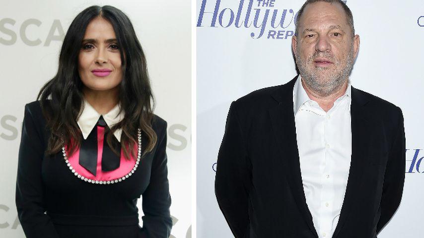 Morddrohung gegen Salma? Weinstein veröffentlicht Statement
