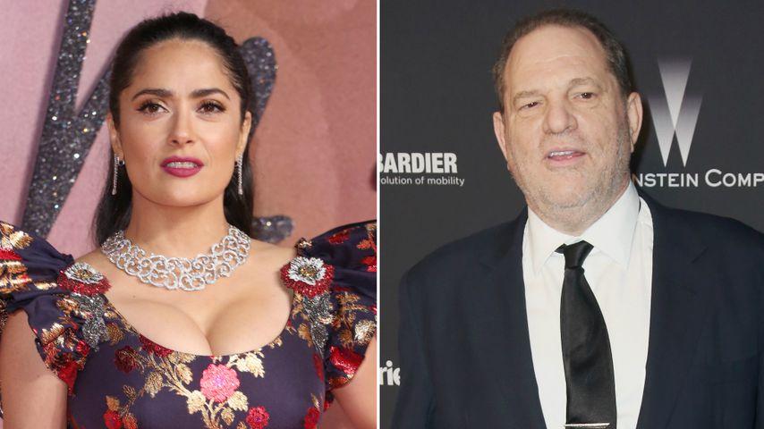"""""""Ich werde dich töten"""": Auch Salma Hayek ist Weinstein-Opfer"""