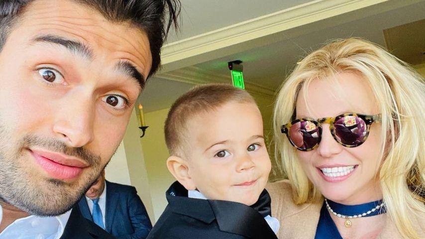 Sam Asghari und Britney Spears, 2021