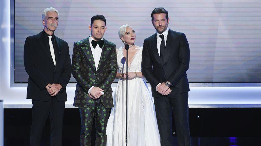 Sam Elliott, Anthony Ramos, Lady Gaga, und Bradley Cooper bei den SAG Awards 2019