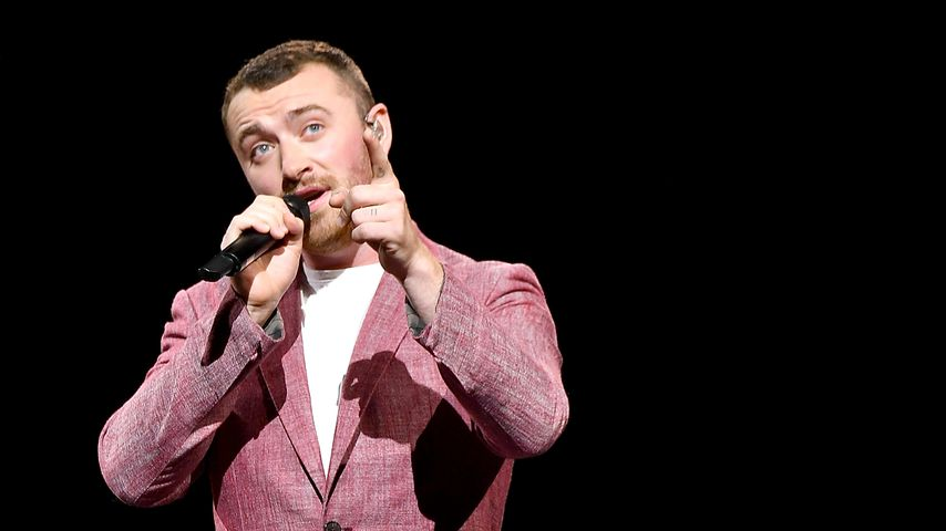 Sam Smith bei einem Auftritt in New York City