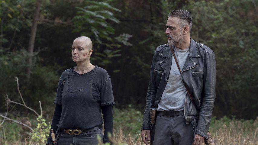 "Samantha Morton und Jeffrey Dean Morgan in ""The Walking Dead"""