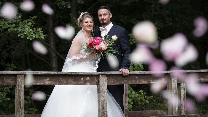"""Samantha und Serkan bei ihrer """"Hochzeit auf den ersten Blick"""", 2019"""