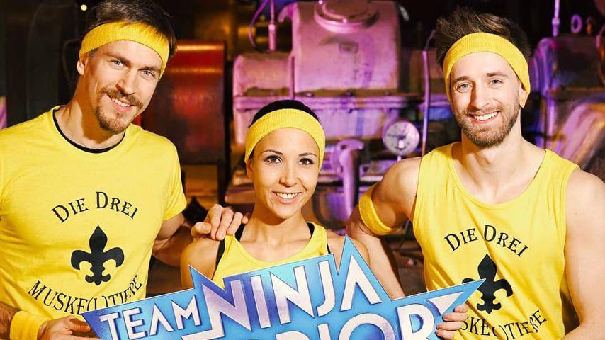 "Samara Alessa mit Kollegen bei ""Team Ninja Warrior"""