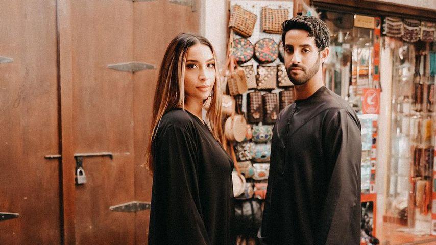 Lamiya und Sami Slimani