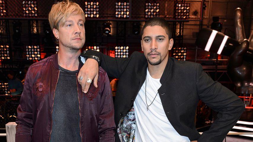 "Samu Haber und Andreas Bourani beim ""The Voice of Germany"" Photocall zur 6. Staffel"