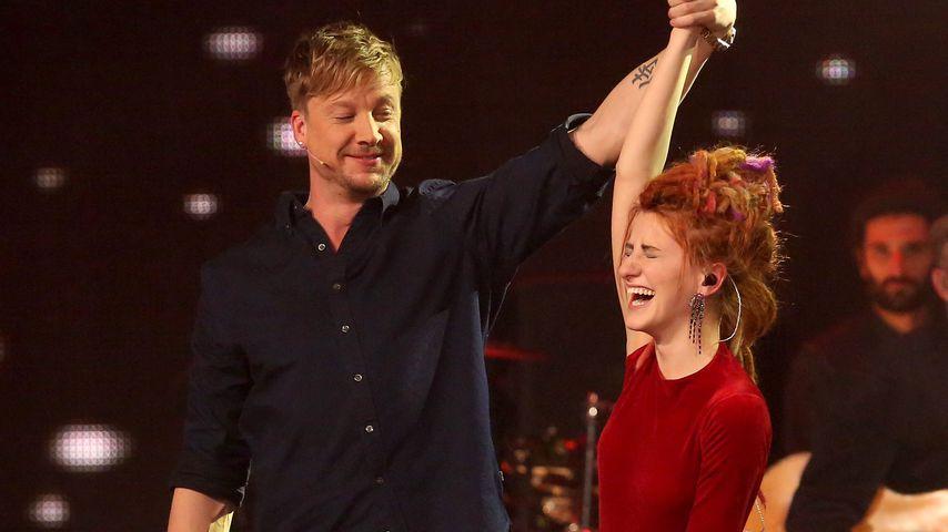 "Samu Haber und Natia Todua im ""The Voice""-Halbfinale 2017"