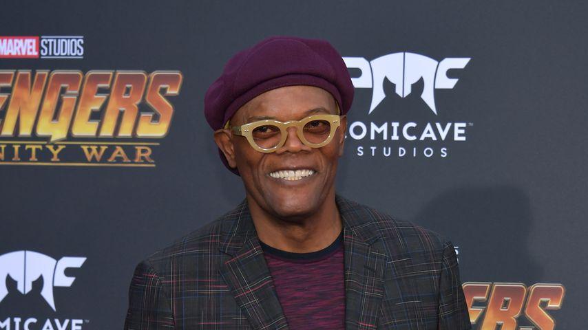 """Samuel L. Jackson bei der Premiere von """"Avengers: Infinity War"""""""
