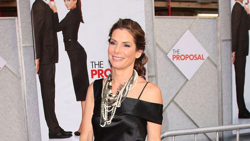 """Sandra Bullock  bei der Premiere von """"Selbst ist die Braut"""" 2009 in Hollywood"""
