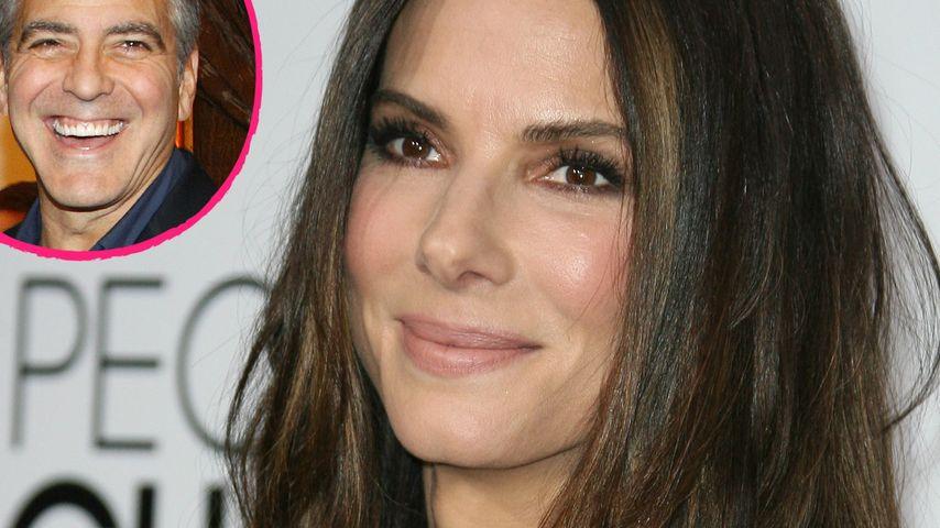 Dieser Charme! Sandra Bullock steht auf Clooney