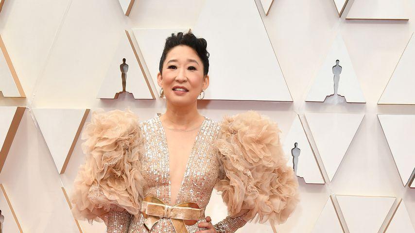 Sandra Oh bei der Oscar-Verleihung 2020