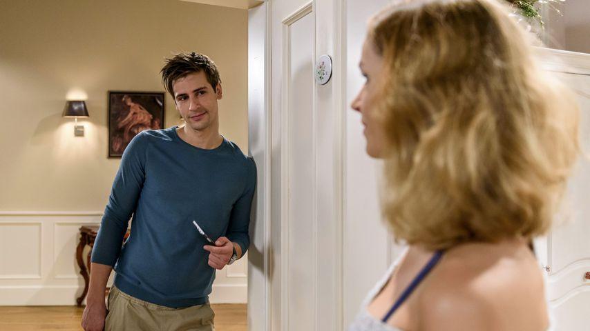 """Paul (Sandro Kirtzel) und Jessica (Isabell Ege) in """"Sturm der Liebe"""""""