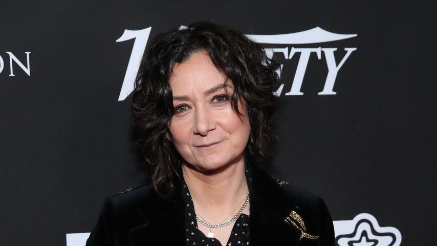 Sara Gilbert im Wiltern Theatre in Los Angeles, 2020