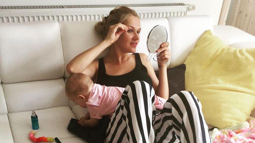 Sara Kulka und Tochter Annabell