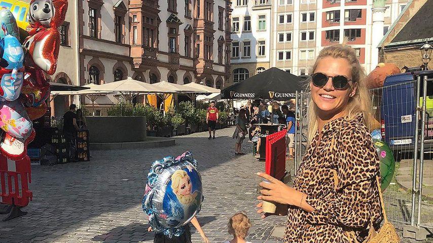 Influencerin Sara Kulka und ihre Töchter
