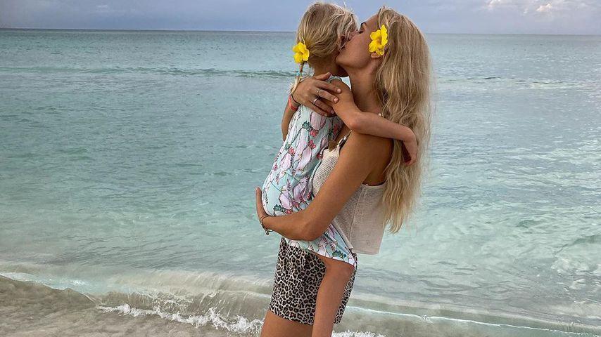 Sara Kulka mit ihrer Tochter Matilda